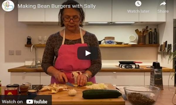 Bean Burgers Sally