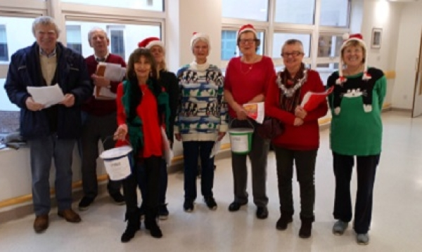 Did you spot our choir out and about this week?