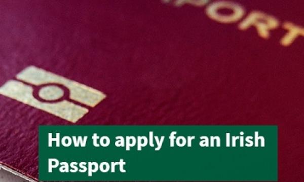 Irish passport application and Common Travel Area
