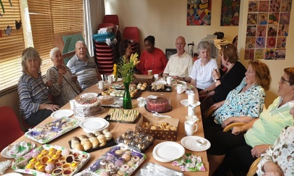 Dementia cafes Brent roll on