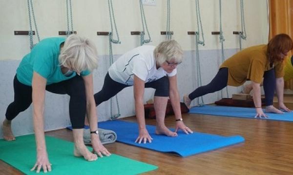 Yoga is back