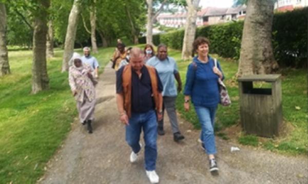 Walking & talking for health