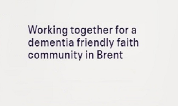 A conversation between all Faiths in Brent during 'Dementia Awareness Week'