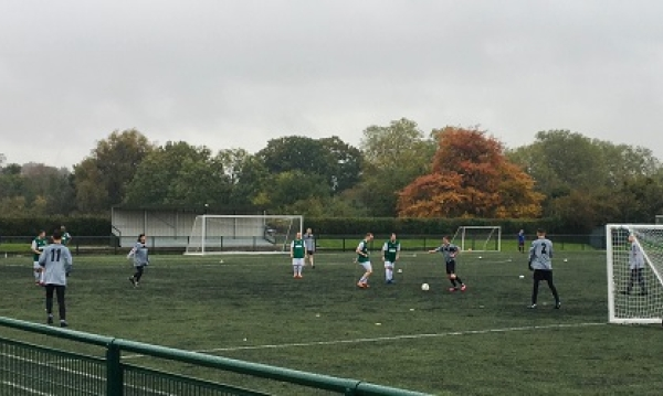 The launch of the Brent and Central Middlesex Football League this week!