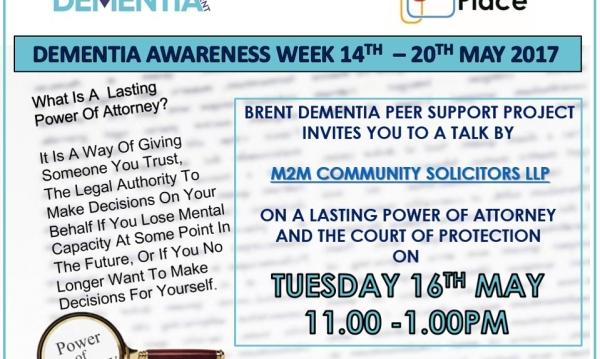 Dementia Peer Support Talk