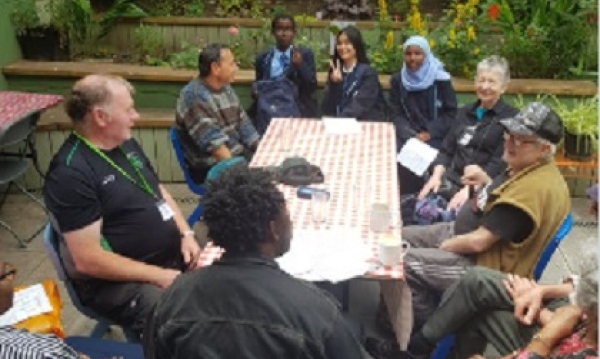 Young and older working together to combat social Isolation