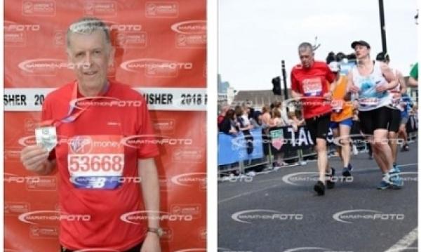 Danny's Magnificent London Marathon Result
